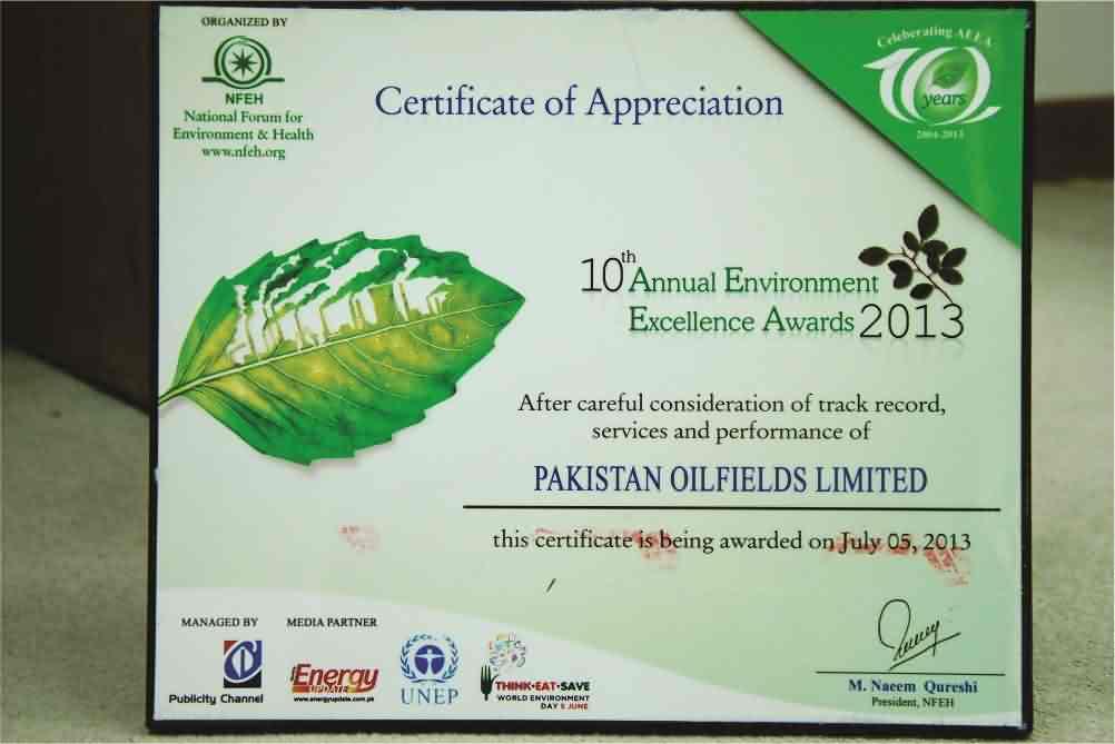 Pakistan Oilfields Limited - Official Website